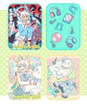 May Trading Cards by raintie