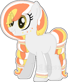 October Adopts [Day 7] - Candy Corn [CLOSED] by xHalesx
