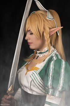 Leafa the Sylph Warrior by Rinaca-Cosplay