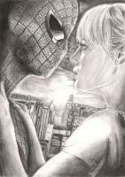 The Amazing Spider-Man Movie Drawing by onchonch