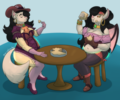 [Commission] Double Morgana WG Sequence (1/4) by Blewd-Naughting
