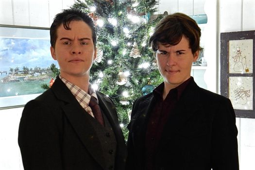 The Holmes Brothers Wish You a Merry... by modestlobster