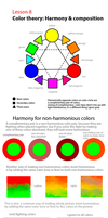 Lesson 8 - Color Harmony by artofpros