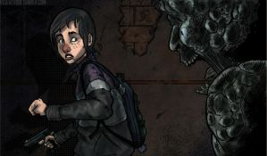 The Last of Us Fall by CGGoddard