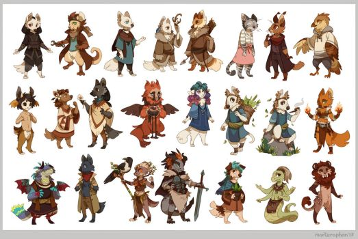 23 cuties by morteraphan