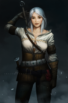 Ciri - Witcher by OOQuant