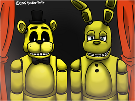 FNAF 3: The Golden Hybrids by Double-Tarts