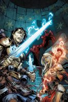 PATHFINDER: HOLLOW MOUNTAIN #5 COVER color by CarlosGomezArtist