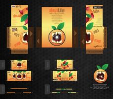 Angry Orange by ykl