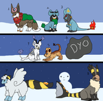 Totally Chrismas Litter by MephiNo
