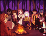 Campfire | Contest entry by PyonSangSang