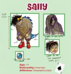 Bridgeport monster - Sally by CrazySwedishGirl