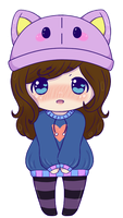 :COM: Chelsea Mini Chibi by Momoroo