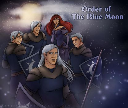 Order of The Blue Moon by Aztarieth