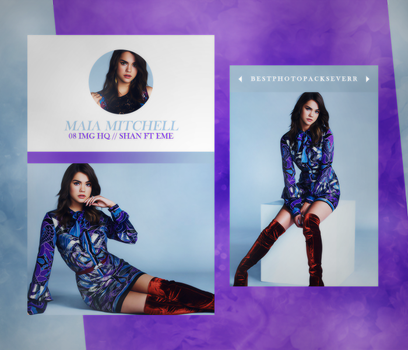 Photopack 15436 - Maia Mitchell by xbestphotopackseverr