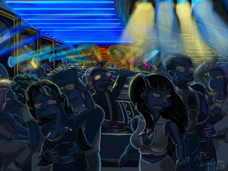 Bart in the Club (2013 Remaster) by simpspin