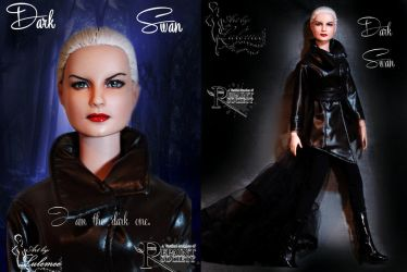Dark Swan OOAK by lulemee
