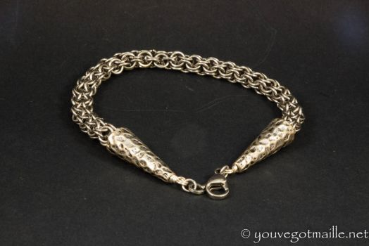 Turkish Roundmaille Mens Bracelet by youvegotmaille