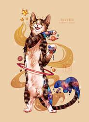 Touched by Gold by Fayven