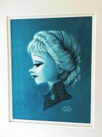 Elsa With Beads and Glitters by gabrielleandhita