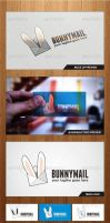 Bunny Mail Logo Template - Graphicriver by Changyik