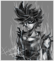 Goku Ultra Instinct by kiayt