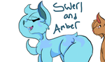 Ask Swerl And Amber by emmbug124