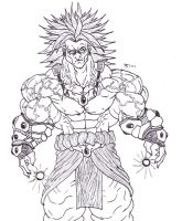 Broly Redesign 2013 by Bender18