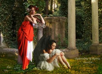 Aphrodite and Kerrie by Can-Cat