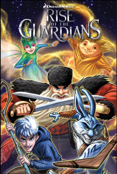 Rise of the Guardians Comics Cover by Alexandra989