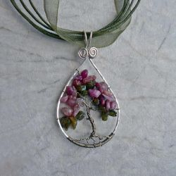 Tourmaline Tree of Life by magpie-poet