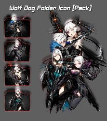 Closers Online Wolf Dog Pack Folder Icon [Pack] by AKurniawanN