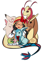 My pokemon team by Janbearpig