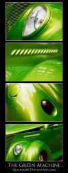 : The Green Machine : by Quok1mb0