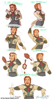 Hans is Pretty by naomimakesart