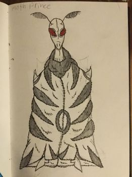 Moth prince cloaked by Doctoreye