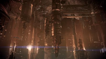 Mass Effect 3 Omega Under Attack 01 Dreamscene by droot1986