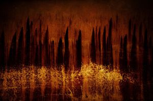 Burning forest by kil1k