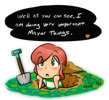 Animal Crossin' - Mayor Things by MELONCONCARNE