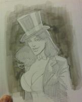 Zatanna AAcomicon sketch by RyanOttley
