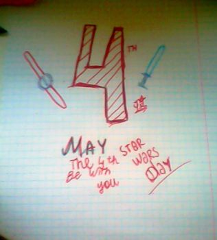 May the 4th be with you by YuliaRabbid