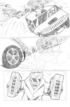 Ultimate Spiderman 112 (sample page 1) by ultimatejulio