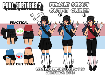 PF2: Female Scout Outfit Guide! by Lusticles
