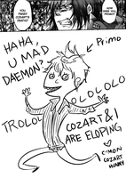U MAD DAEMON by annit-the-conqueror