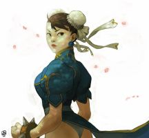 Chun Li by Blackmoonrise