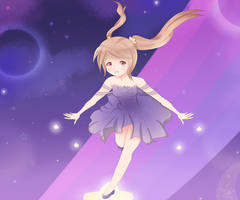 :Contest Entry: Starry Shinigami Ethel by KuroMizana