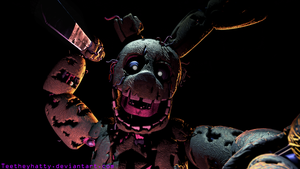[FnaF-Sfm Poster] Here's Springy! by Teetheyhatty