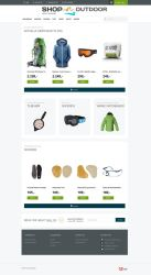 Webshop - Shopoutdoor by PageDesign