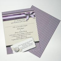 Lucky Sixpence Wedding Invitation by GraphicEmbers