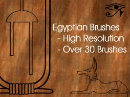Egyptian Brushes by Von186